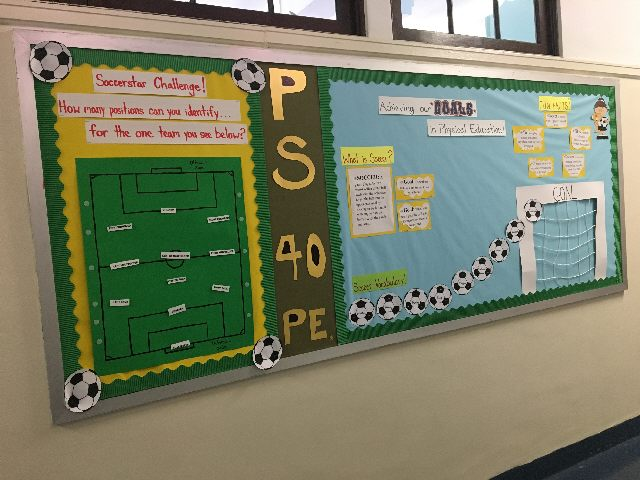Achieving our GOALS in Physical Education-Soccer S Image