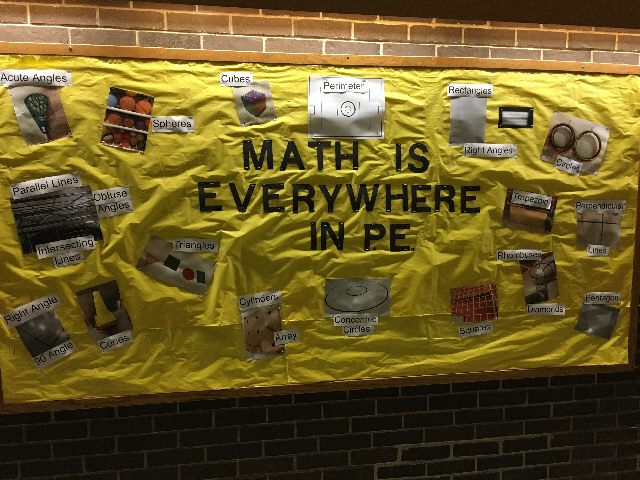 Math is Everywhere in PE Image