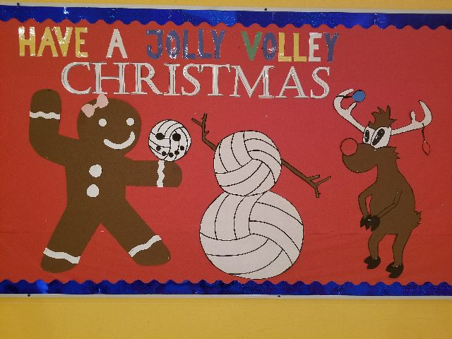 Jolly Volley Christmas Image
