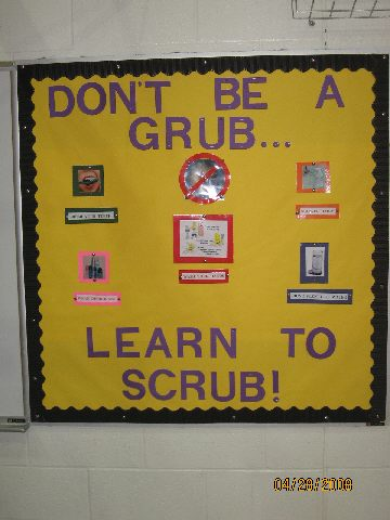 Don't Be A Grub...Learn To Scrub!!! Image
