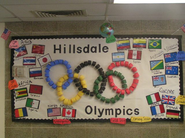 fascinating Olympic Bulletin Board Ideas Part - 5: Olympics Image