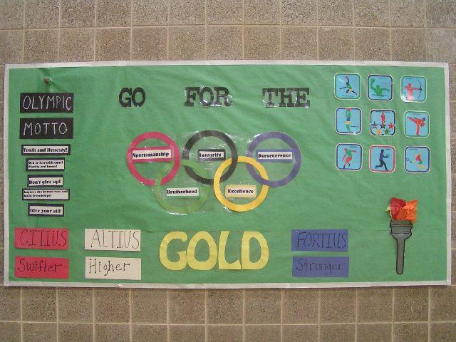 nice Olympic Bulletin Board Ideas Part - 13: Summer Olympics Image
