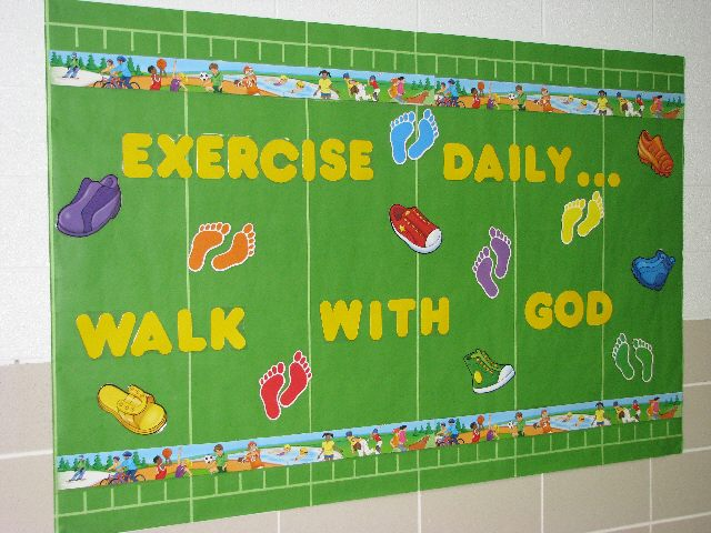 Exercise Daily...Walk With God Image