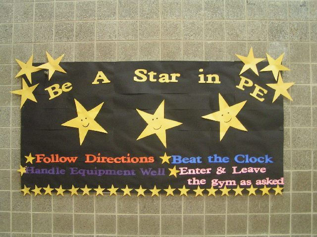 Be a Star in PE Image