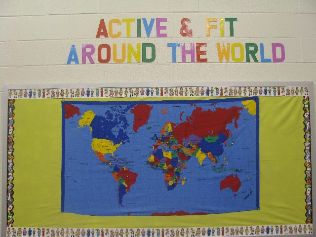 Active and Fit Around the World Image