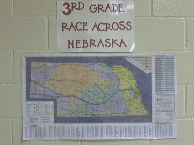 Third Grade Race Across Nebraska Image