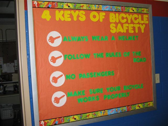 4 Keys of Bicycle Safety Image