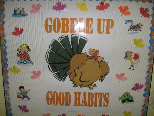 Gobble Up Good Habits (Thanksgiving) Image
