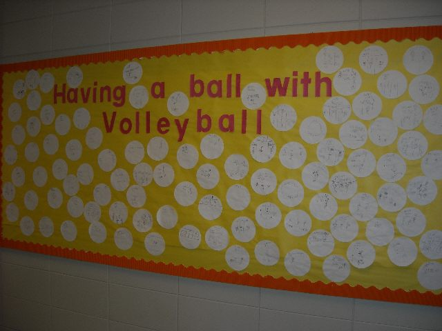 Having a Ball with Volleyball Image
