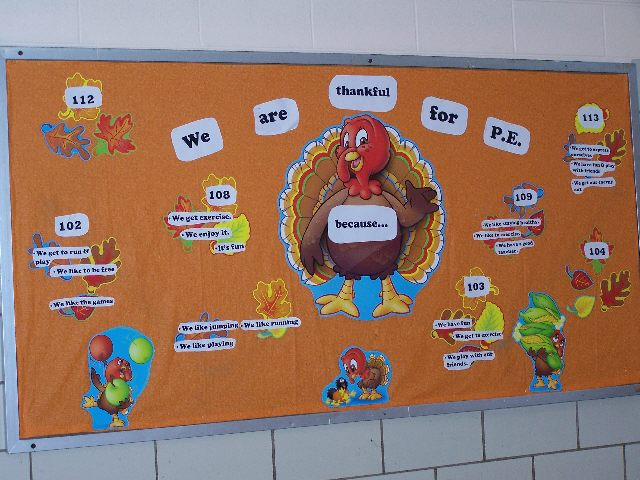 I am thankful for PE because... (Thanksgiving) Image