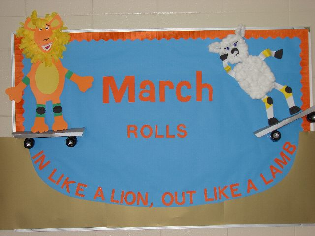 March Rolls in on the Half Pipe Image