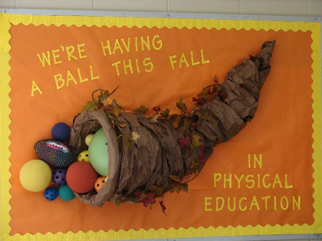 We're Having A Ball This Fall in PE Image