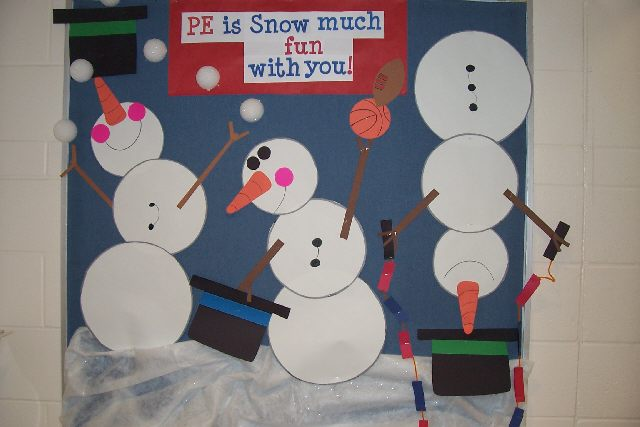 bulletin board ideas for january pictures. It has been nice to leave it up into January since it so snowy in Colorado.