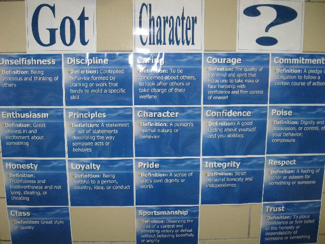 Got Character? Image