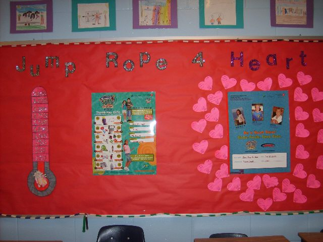 Jump Rope For Heart Board Image