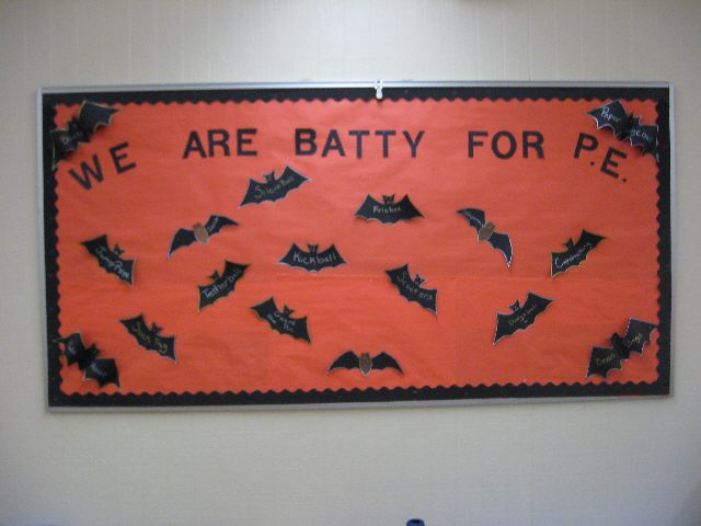 We Are Batty For P.E. (Halloween) Image
