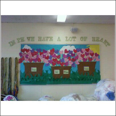 In PE We Have A Lot Of Heart (Valentineu0027s Day Image