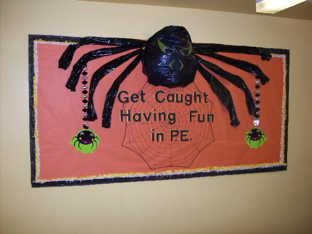 Get Caught Having Fun in P.E. #2 (Halloween) Image