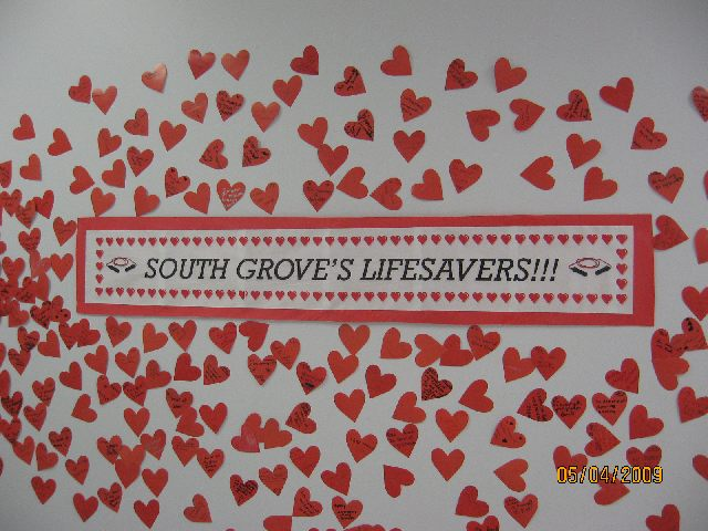 South Grove's Lifesavers Image