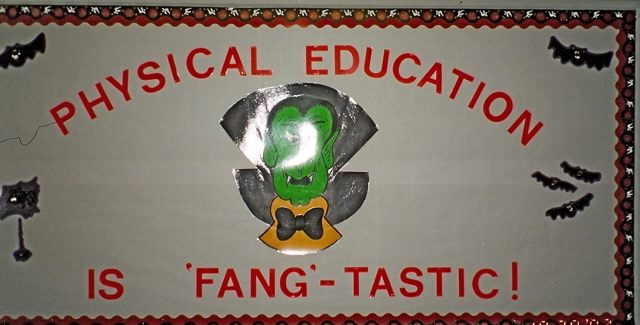 Physical Education is Fang-tastic (Halloween) Image