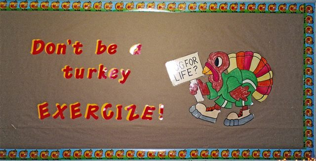 Don't be a Turkey! (Thanksgiving) Image