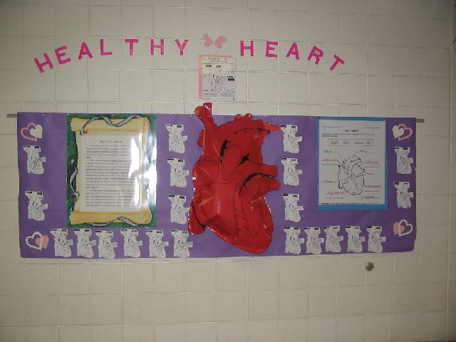 Modal title for Heart shaped bulletin board