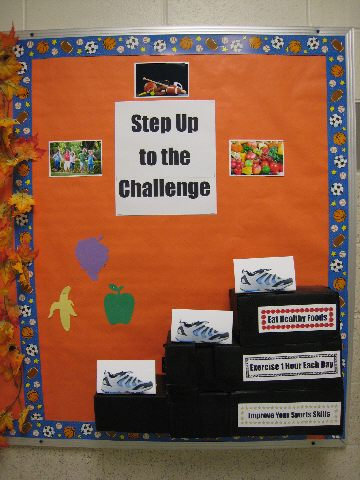 Step Up to the Challenge Image