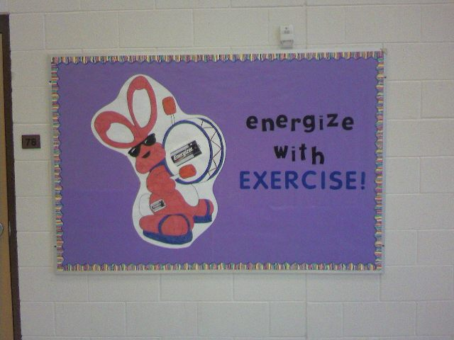 Energize with EXERCISE! Image