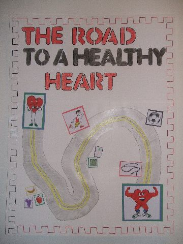 Road to a Healthy Heart Image