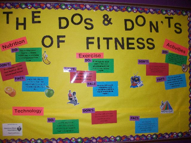 The Do's and Don'ts of Fitness Image