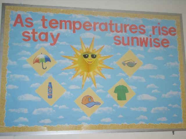 As Temperatures Rise Stay Sunwise! Image