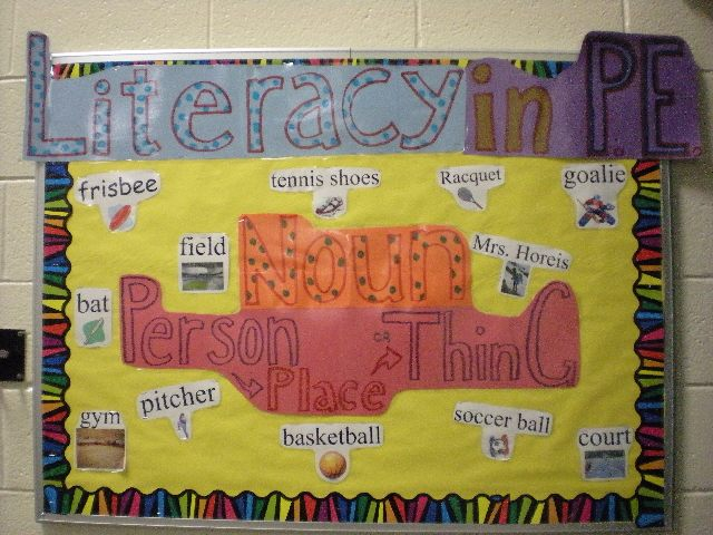 Literacy in PE Image