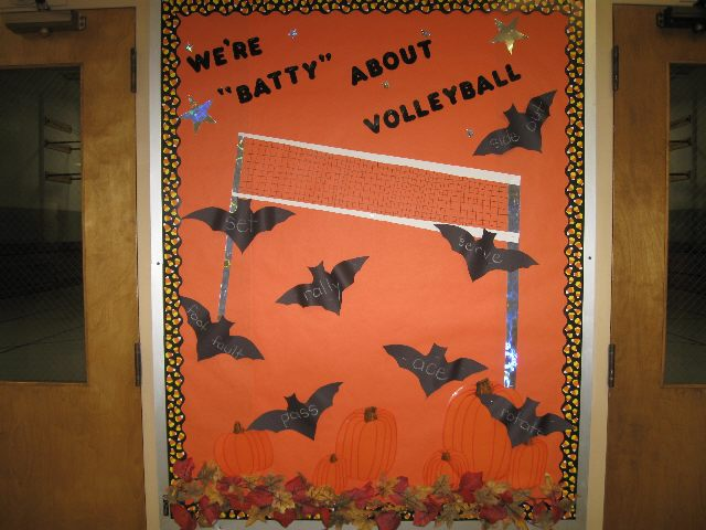 We're Batty About Volleyball (Halloween) Image