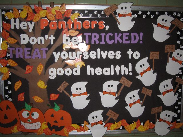 Treat Yourself to Good Health. (Halloween) Image