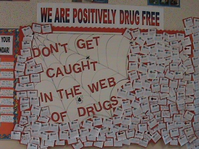 Web of Drugs - Red Ribbon Week Image