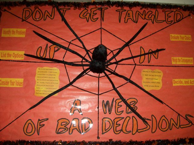 Don't Get Tangled Up In Web Of Bad Decisions Image