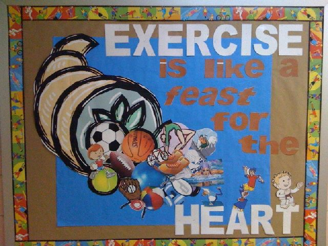 EXERCISE is like a feast for the HEART Image