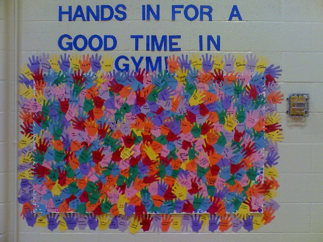 Hands In For A Good Time In Gym Image