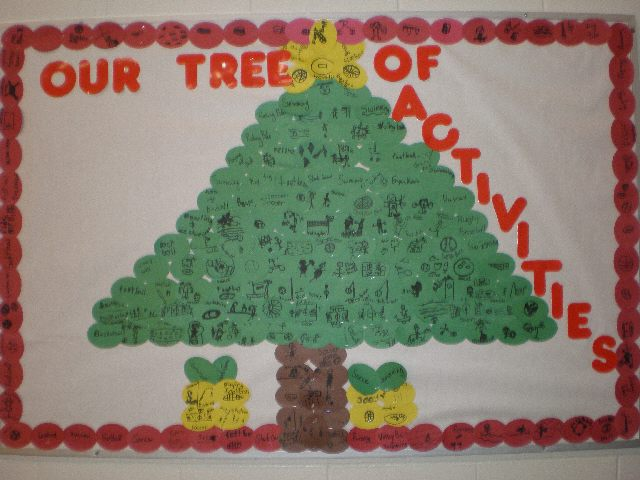 Activity Tree (Christmas) Image
