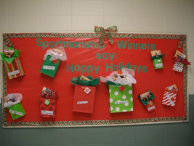 Sportsmanship Winners Say: Happy Holidays! Image