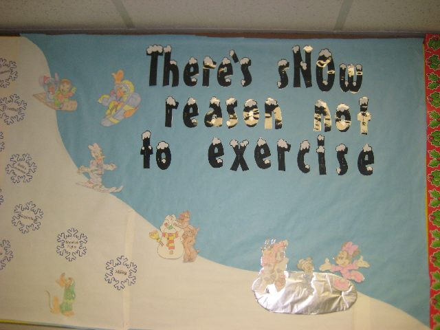 There's sNOw reason not to exercise Image