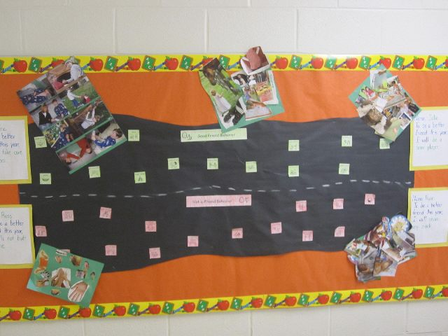 Good Behavior Bulletin Board Ideas http://www.pecentral.org/BulletinBoard/ViewBulletinBoard.asp?ID=977