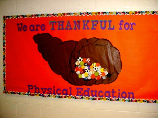 Thankful For Physical Education Image