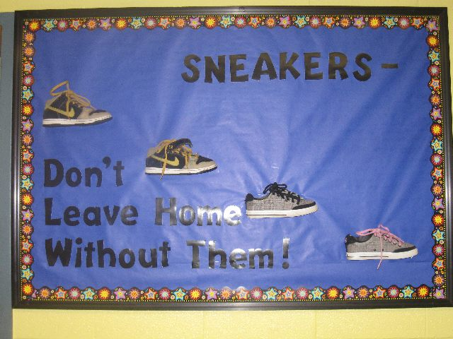 Sneakers -Don't Leave Home Without Them! Image