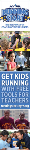 New York Road Runners Running Start Program for kids