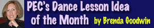 Brenda Goodwins Dance lesson idea of the month on PEC