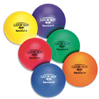 Gator Skin balls from S&S Discount Sports