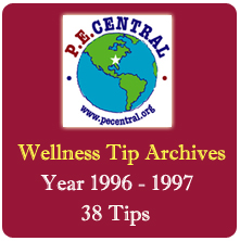 Wellness Tips from PE Central
