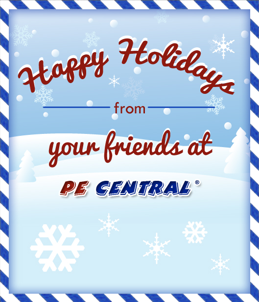 Happy Holidays from PE Central