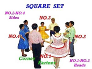square dance set